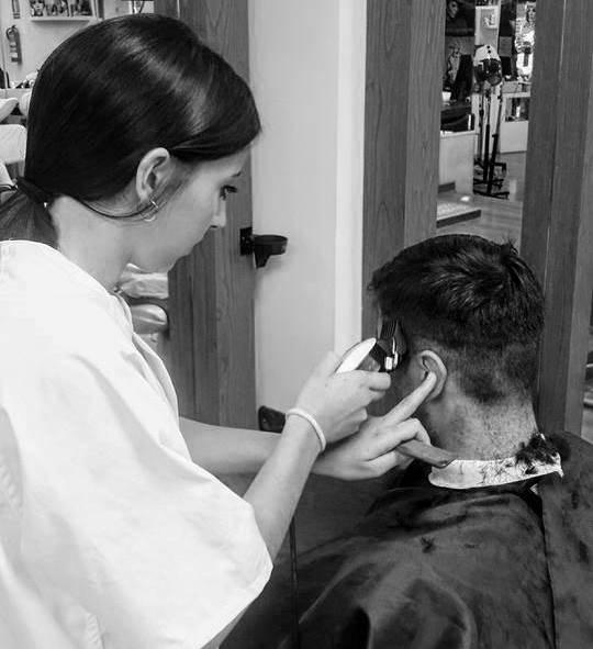 trabajos curso básicos peluquería hombres